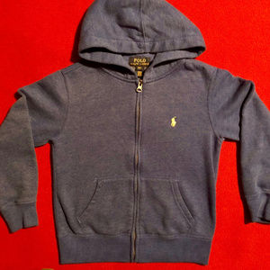 Polo by Ralph Lauren zip-up hoodie